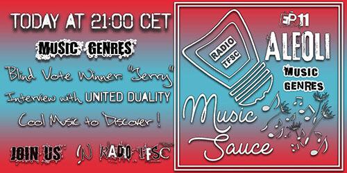 Link to he EP11 of AleOli Music Sauce