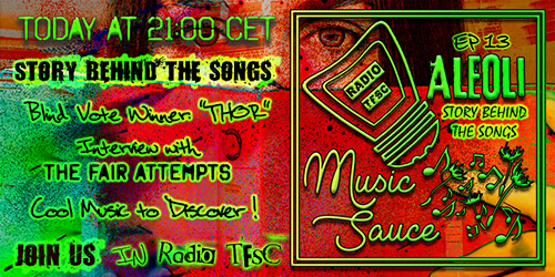 Overview of the EP13 of AleOli Music Sauce