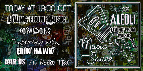 Overview of the EP17 of AleOli Music Sauce, Live from Music Special with Erik Hawk