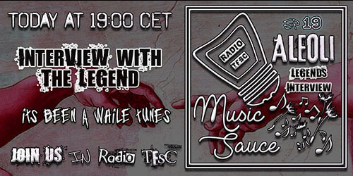 Overview of the EP19 of AleOli Music Sauce, Emotions Special with The Legend