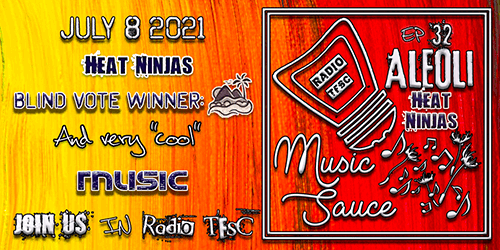 Image of EP32 of AleOli Music Sauce. Island won on our blind vote and we are bringing a lot of super cool summery tunes!